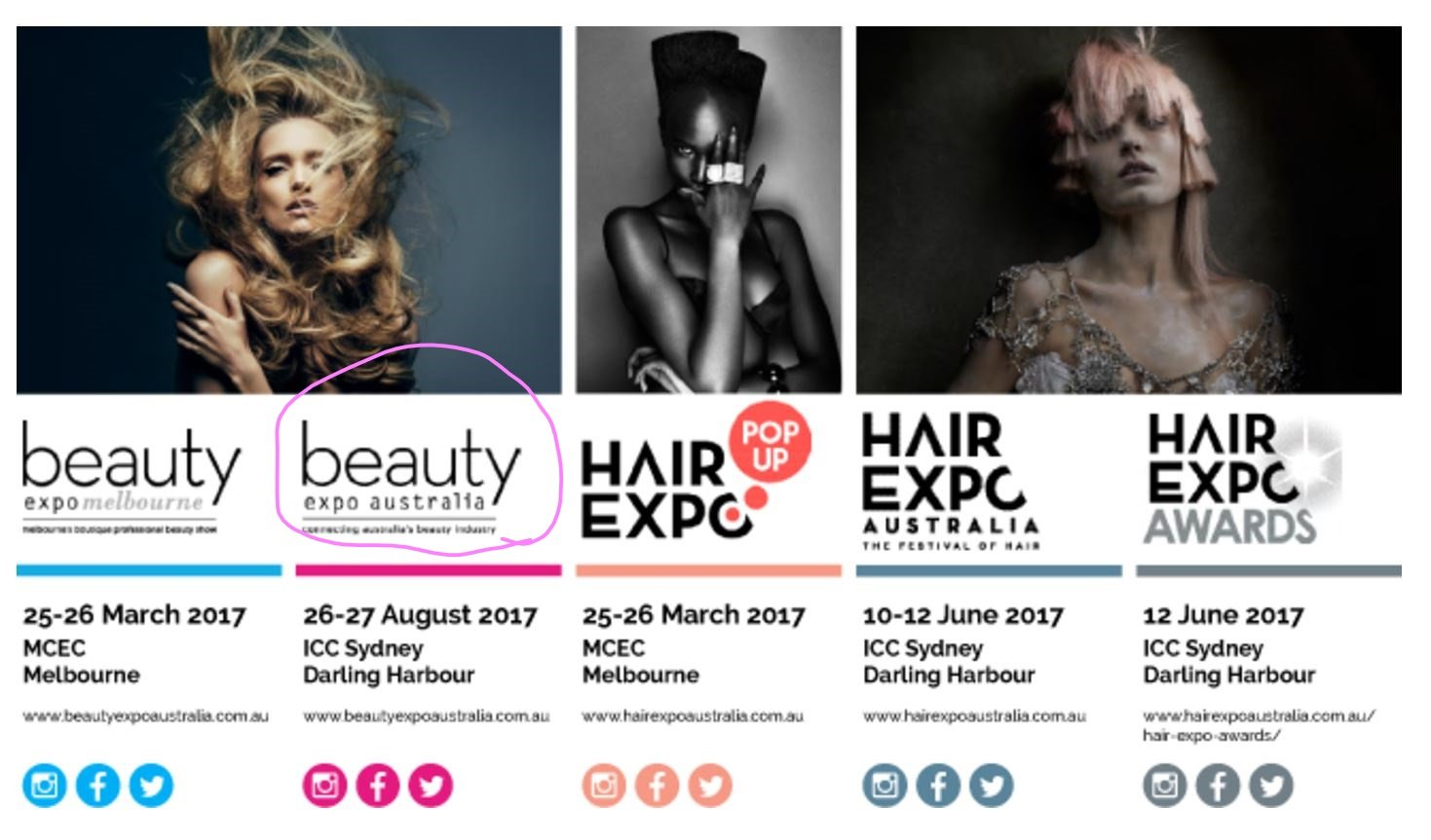 REGNE™ at the Beauty Expo Australia 2017